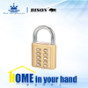 Zinc Alloy Combination Padlock WA114-2